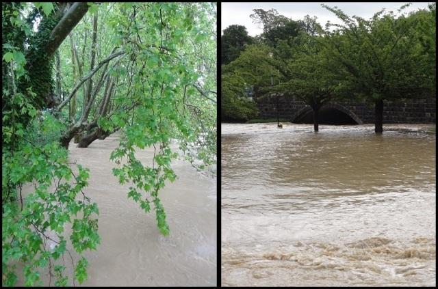 Increíble la altura del agua; Patxi Abasolo (9-6-2013)