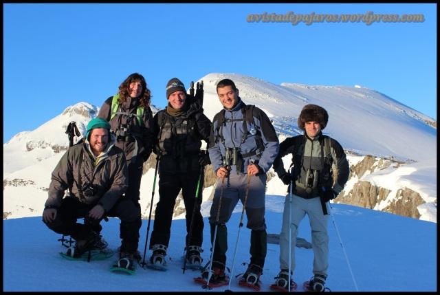 Sonrientes antes de empezar el descenso (4-6-2013)