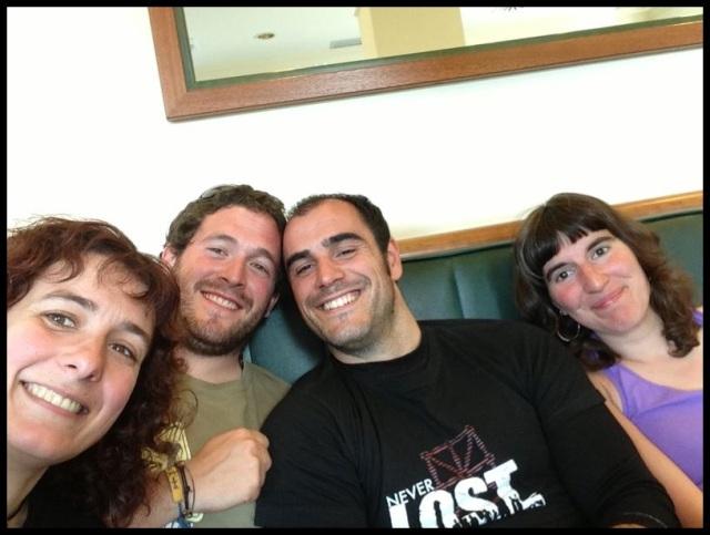 """Parte del equipo de """"Los Bloody twitchers"""" (24-6-2013)"""