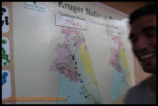 Mapa con las localizaciones (31-10-2013)