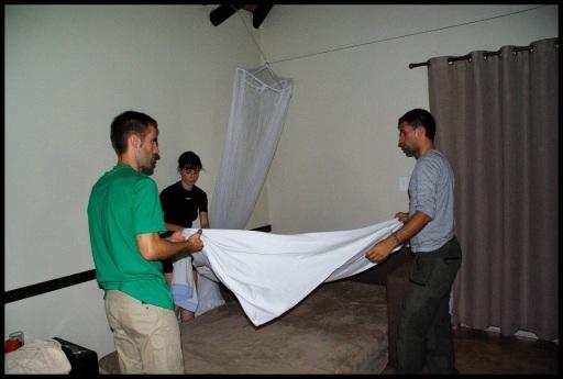 Colocando la mosquitera (31-10-2013)