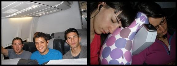 En el avión (28 y 29-10-2013)