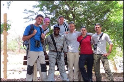 Foto con el Guarda de la zona (30-10-2013)