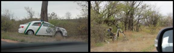 Coche policia y radar; Koldo Azedo (2-11-2013)