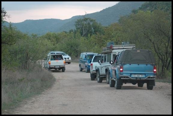 Atasco de coches en los leones; Koldo Azedo (9-11-2013)