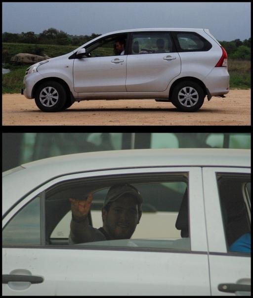 En los coches; Koldo Azedo y María Martínez (8-11-2013)