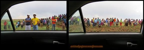 Espectadores del accidente (10-11-2013)