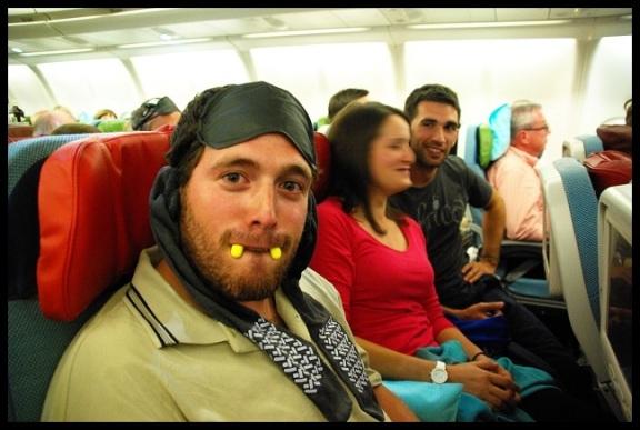 Gañaneando en el avión; Amaia Mina (10-10-2013)