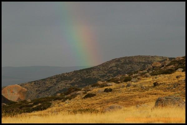 Arco iris en Gredos (2-11-2014)