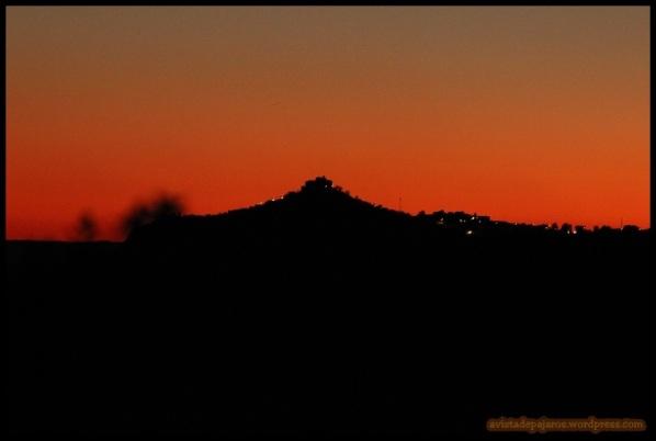 Atardecer en la Sierra (23-1-2015)