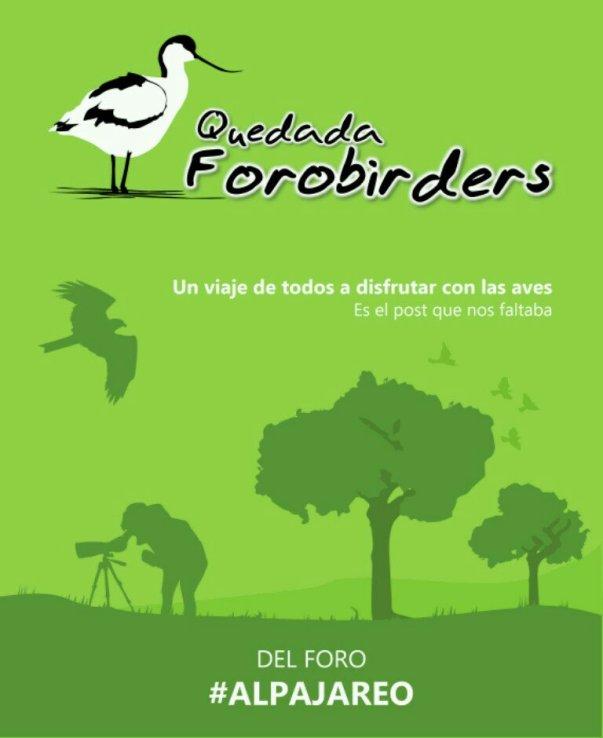 Cartel de la quedada, realizado por Jose María de la Peña