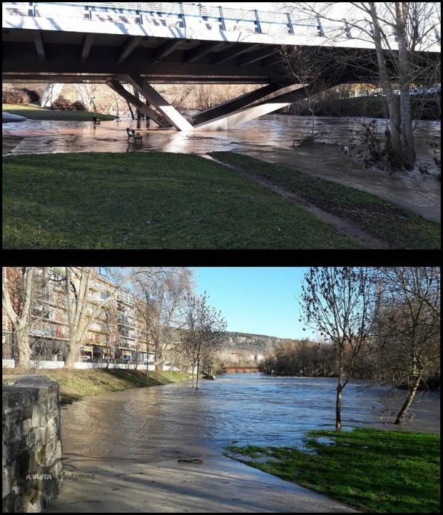 """Puente de """"El Vergel"""" y presa de San Pedro (17-1-2027)"""